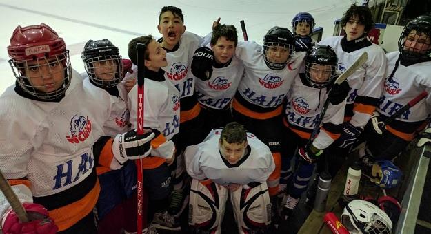 קבוצת ילדים Hawk Haifa - אחרי ניצחון במשחק קשה נגד ירושלמים!