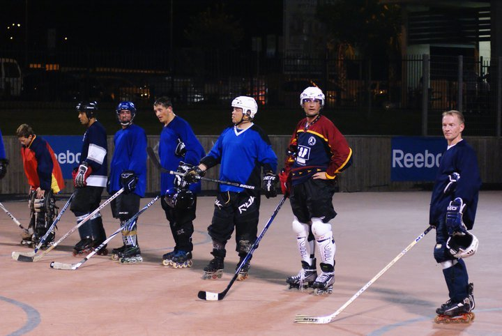 Roller Hockey in Afula 02.07.11