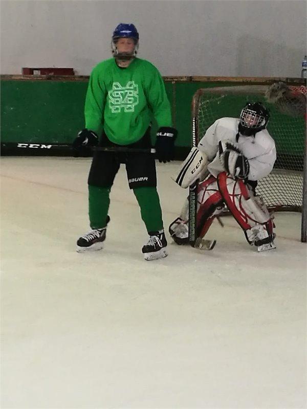 אימון שחקני מועדון Hawks Haifa במעלות