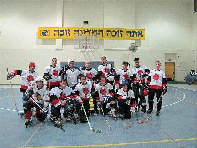 21-02-2009 (5 : 1), Hawks Haifa נגד HC Nahariya