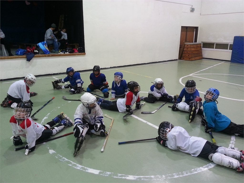אימון קבוצת ילדים בגילאים 4 - 7, אולם ספורט יזרעאליה
