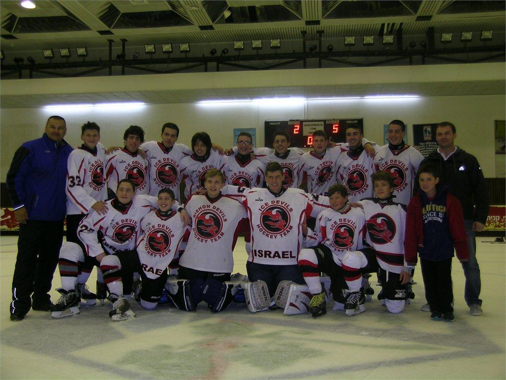 הוקי קרח נוער, משחק גמר על המקום השלישי, עונת 2012-2013