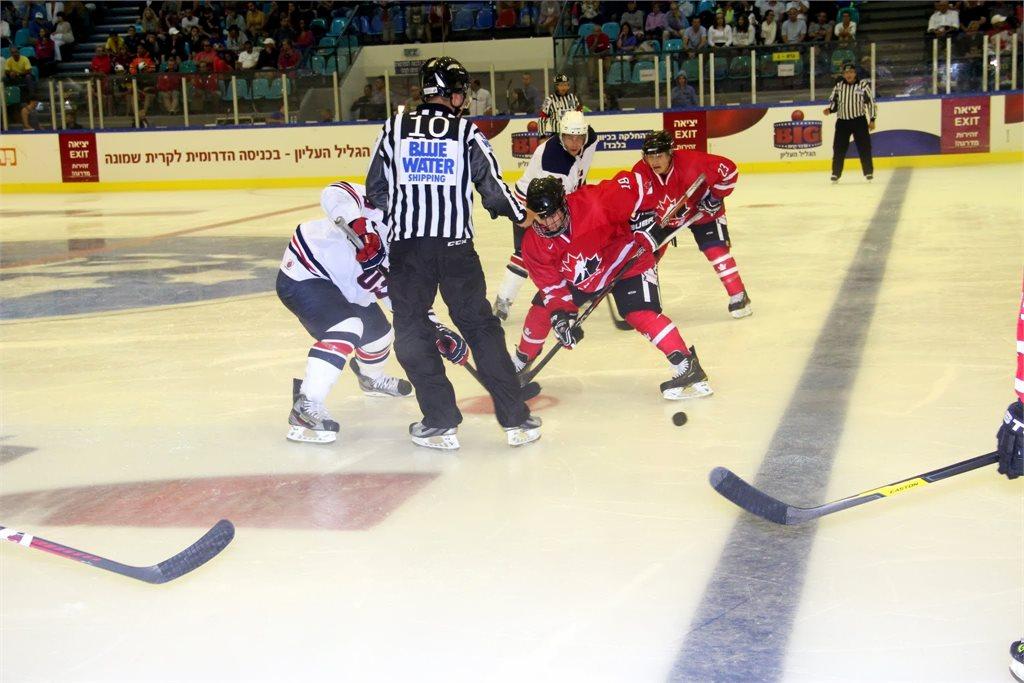 Maccabiah 2013 - Open, Canada vs USA