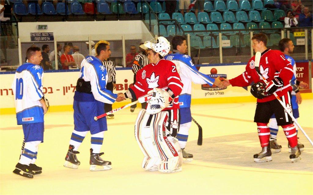 Maccabiah 2013 - Juniors, Israel vs Canada