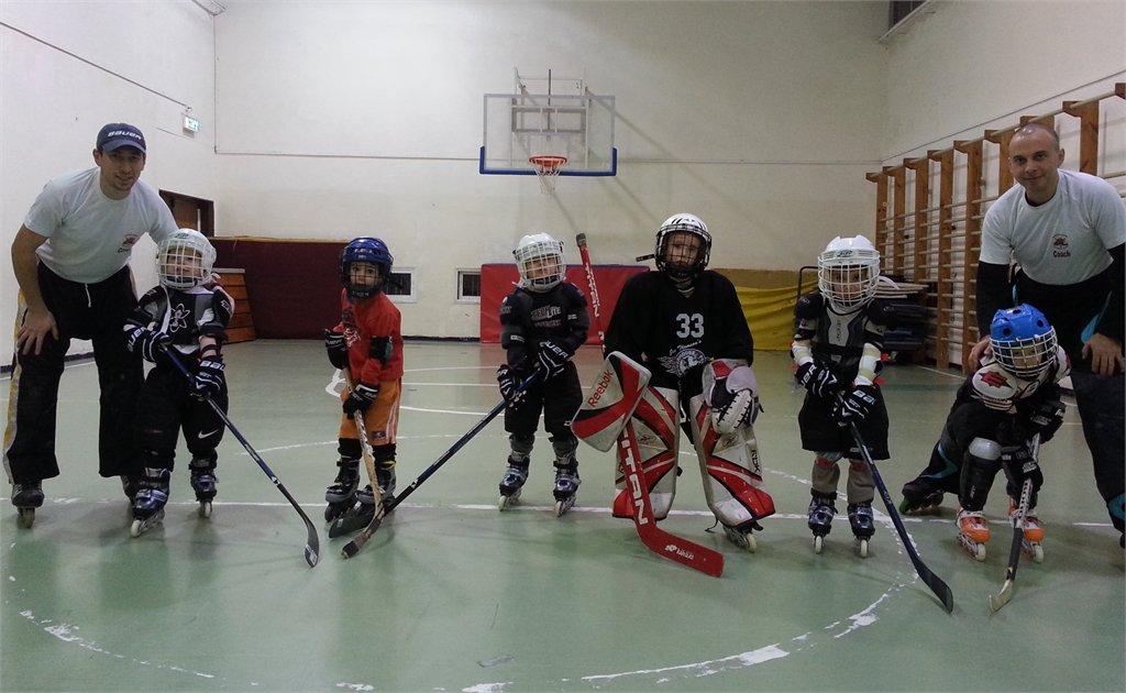 חוג הוקי רולר לילדים בגילאים 4-5