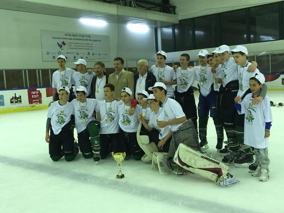 משחקי גמר ליגת הוקי קרח לנוער עונת 2015-2014