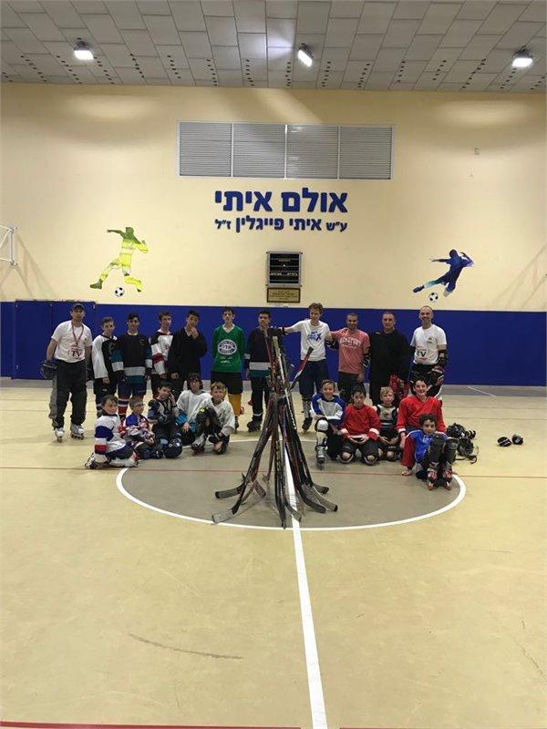 """לג בעומר במועדון הוקי """"הוקס"""" חיפה"""