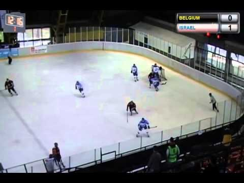 ICE HOCKEY WORLD CHAMPIONSHIP 2014 | Div. II Group A Israel - BELGIUM