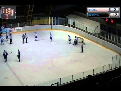 ICE HOCKEY WORLD CHAMPIONSHIP 2014 | Div. II Group A Israel - Estonia