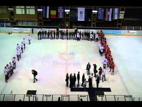 Closing ceremony of Ice Hockey World Championship Division II group A