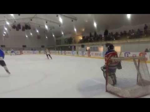 Ice Hockey Friendly game between veterans teams Israel and Ukraine