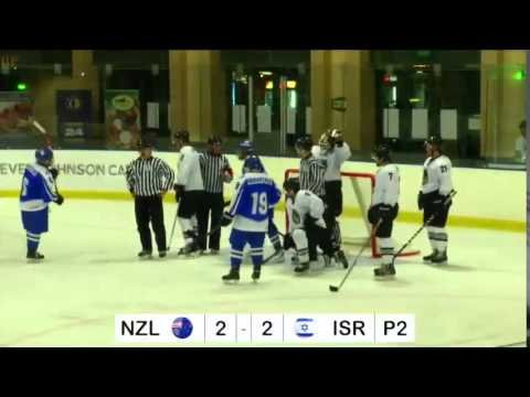 IIHF World Championships 2015 Israel vs New Zealand