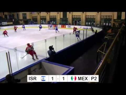 IIHF World Championships 2015 Israel vs Mexico