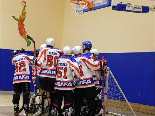 משחק חברתי בין קבוצות חיפאיות Hawks Haifa