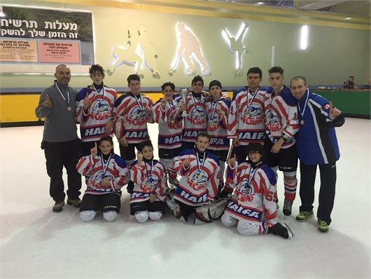 משחק ידידות נגד קבוצת נהריה והענקת גביעים למצטיינים ומדליות על ליגה נוער לאומית צפון 2017-2018