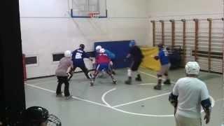 אימון קבוצת Hawks Haifa, משחקים מצחיקים
