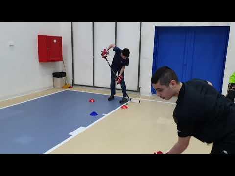 Хайфские «Ястребята» - тренеровка дриблинг