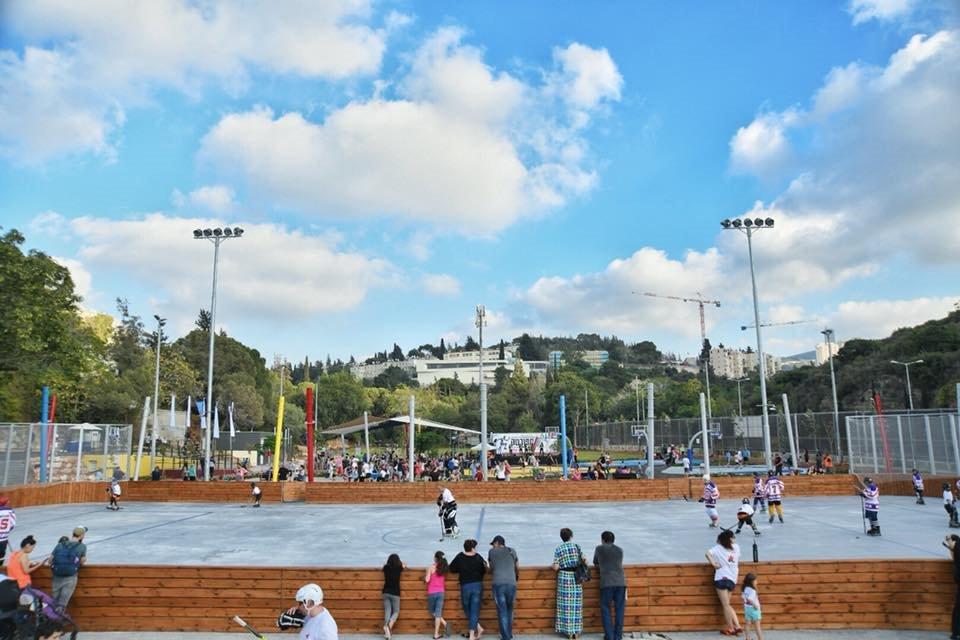 פתיחת פארק ספורטק המחודש בחיפה