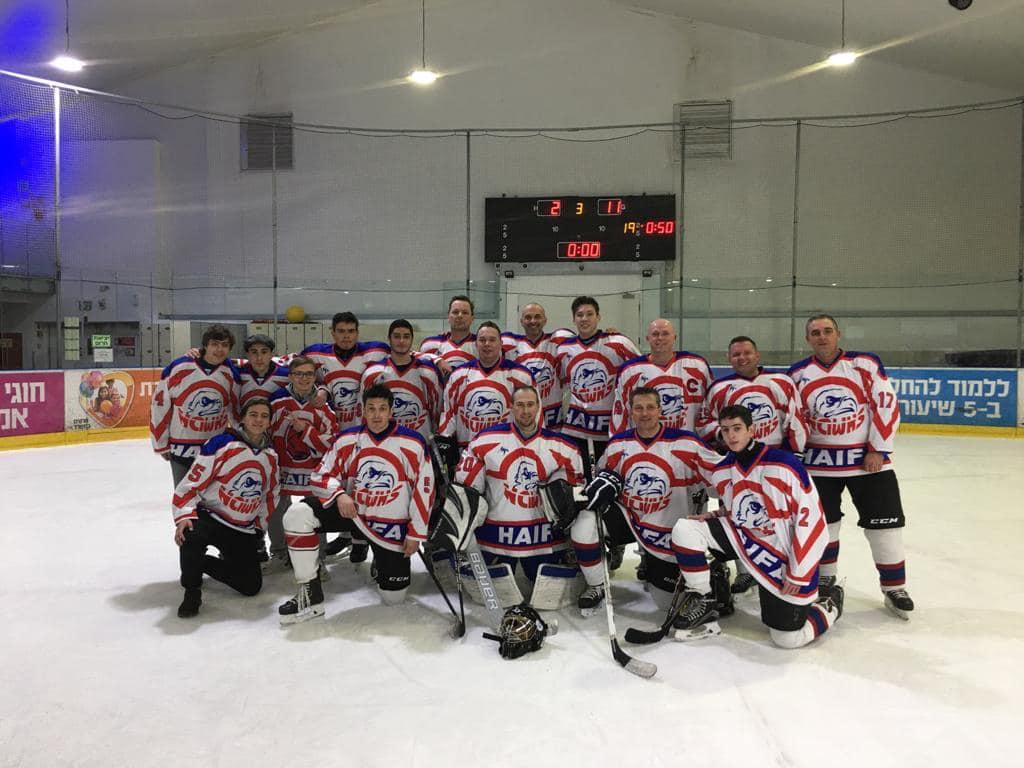 Хоккейный команда «Ястребы Хайфа» досрочно обеспечила себе выход в четверку сильнейших