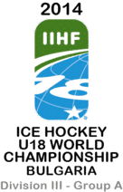 2014 IIHF ICE HOCKEY WORLD championship-U18 Div. III Group A