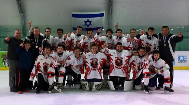 Devils-2 Rishon Le Zyon - Won Israel National Ice Hockey Championship in National Division