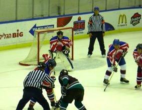 תמונות המשחק Hawks Haifa נגד Metulla Ice Hockey Club
