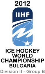 2012 IIHF WORLD CHAMPIONSHIP Div. II Group B Sofia, BULGARIA