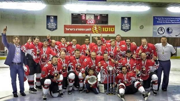 אלופת ישראל בליגת ההוקי קרח לבוגרים לעונת 2015-2014 Rishon Ice Devils