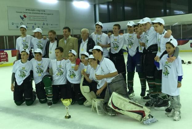 Horses Kfar Saba אלופת ישראל בהוקי קרח לנוער, עונת 2015-2014