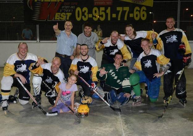 קבוצת Hertzelia Ice Time אלופת ישראל באינליין הוקי, עונת 2013-2014